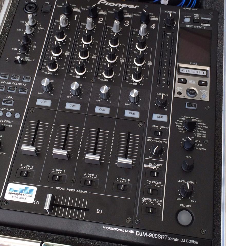 Pioneer DJM 900 SRT Hire