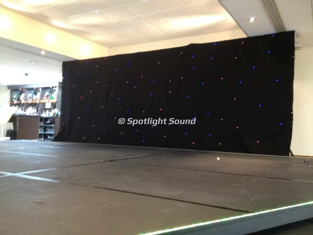 Stage and Backdrop Hire