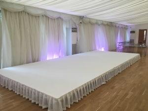 Stage White Carpet