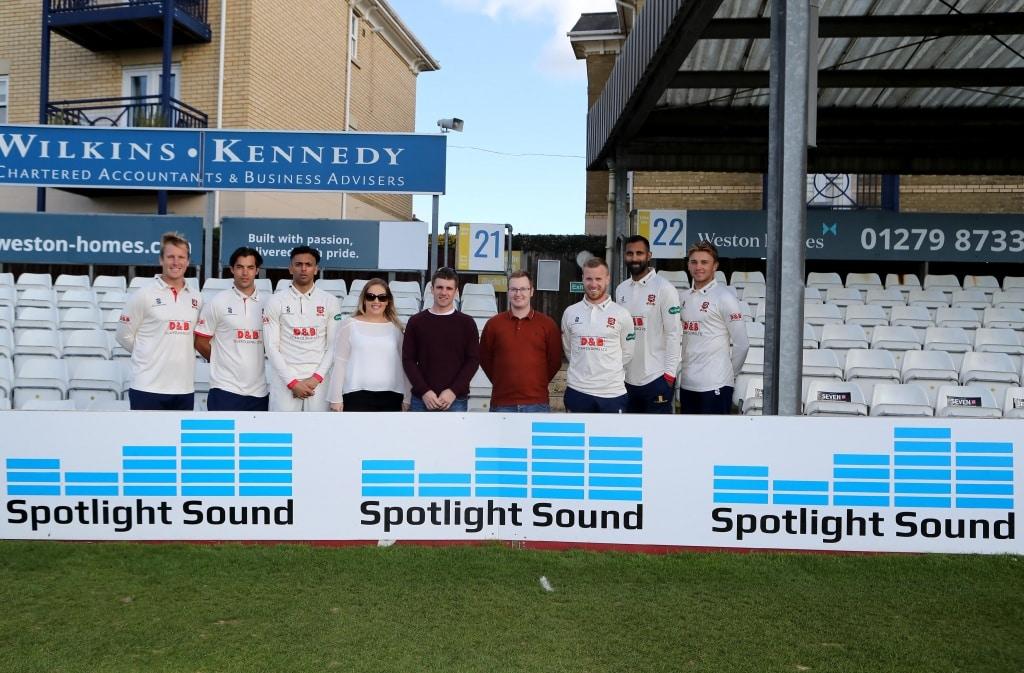 Essex Cricket Spotlight Sound